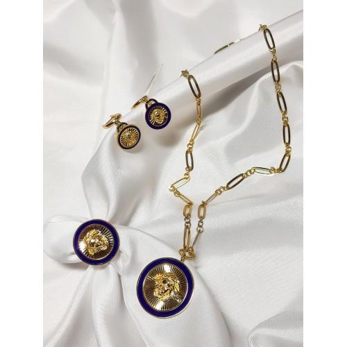 Altın Versace Set