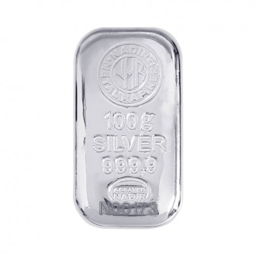 100gr Gümüş Külçe