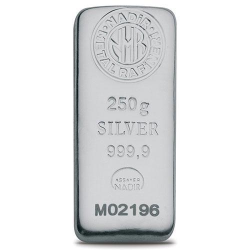 250gr Gümüş Külçe