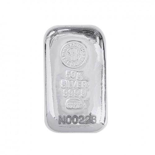 50gr Gümüş Külçe