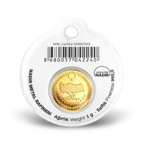 1gr 22 Ayar Altın