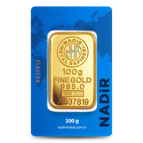 24 Ayar 100gr Altın