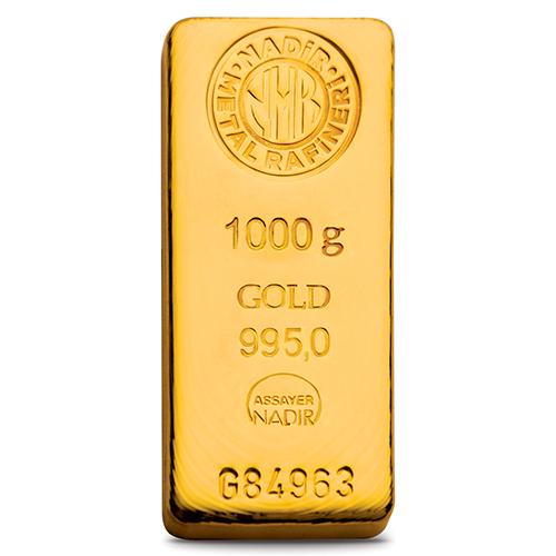 1000 gr Külçe Altın